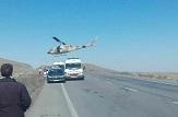 باشگاه خبرنگاران -واژگونی یک دستگاه خودروی سواری در محور جزیره اسلامی