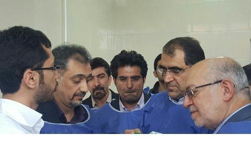 افتتاح اولین تولیدکننده ایمپلنتهای دندانپزشکی در کشور توسط وزیر بهداشت