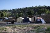 باشگاه خبرنگاران -طبیعت زیبا و برپایی چادرهایی در دل کوه