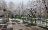 باشگاه خبرنگاران -مزار یک بانوی امامزاده در باغ فیض تهران