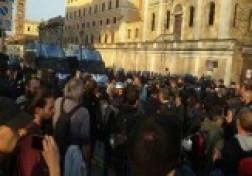 باشگاه خبرنگاران - تظاهرات ضد اروپايي در رم + فیلم