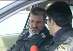 باشگاه خبرنگاران - وقتی خبرنگار صدا و سیما لباس پلیس می پوشد + فیلم