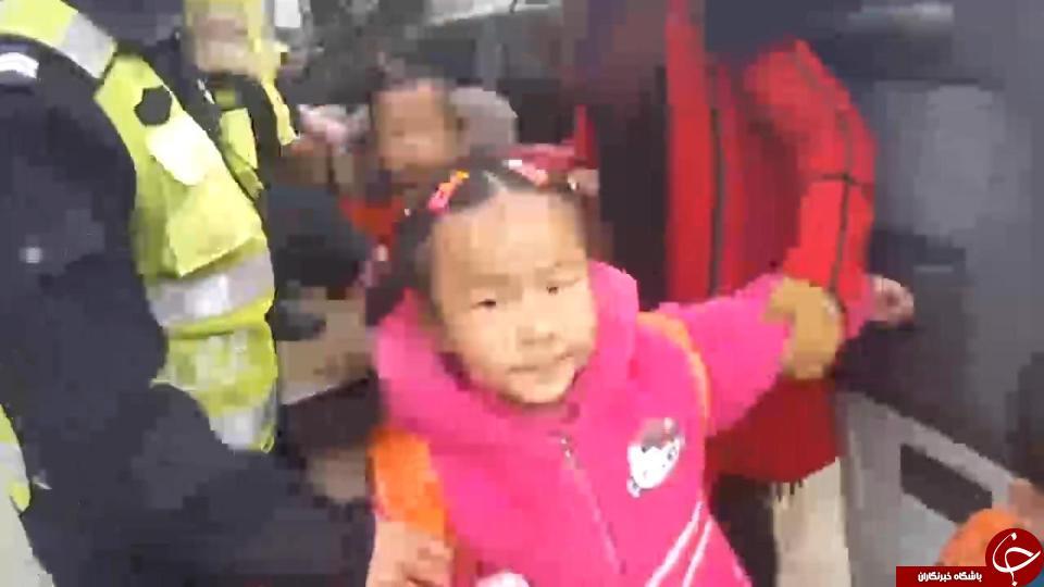 عمل عجیب راننده چینی، تعجب پلیس این کشور را برانگیخت + تصاویر