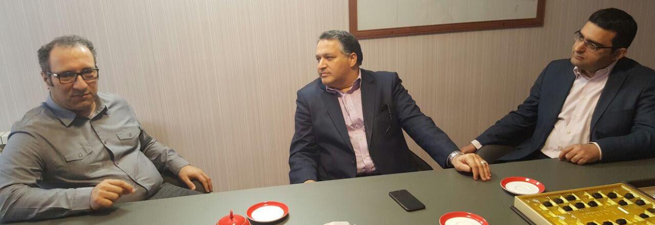 باشگاه خبرنگاران -بازدید مدیرعامل بنیاد فارابی از دبیرخانه جشنواره جهانی فیلم فجر