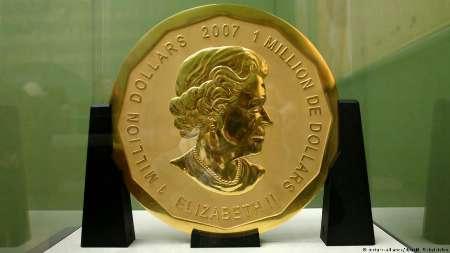 سکه ۱۰۰ کیلویی از موزه برلین دزدیده شد