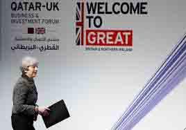 افزایش همکاریهای تجاری انگلیس و قطر