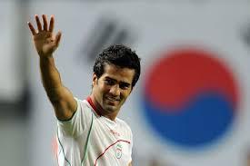 مسعود شجاعی بهترین بازیکن زمین شد