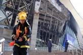 باشگاه خبرنگاران -ورزشگاه فوتبال شنهوا در شانگهای چین آتش گرفت + فیلم