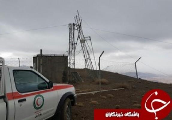 باشگاه خبرنگاران - سقوط دکل 24 متری در اثر باد شدید