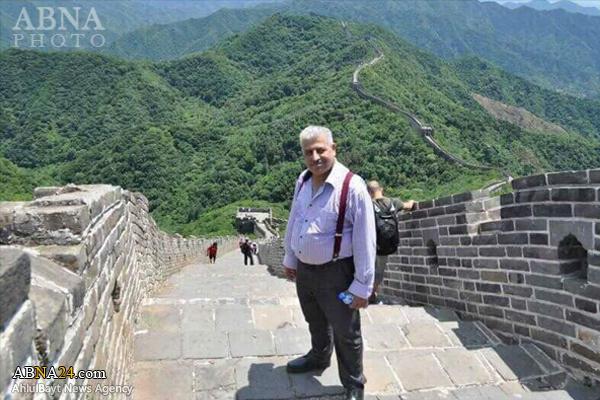 مبارزه استاندار نینوا با داعش از روی دیوار چین!