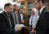 باشگاه خبرنگاران -یک بانوی بلژیکی در حرم رضوی مسلمان شد