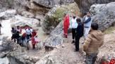 باشگاه خبرنگاران -نجات فرد سقوط کرده از ارتفاعات آبشار اخلمد+تصاویر