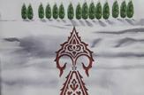 باشگاه خبرنگاران -برگزاری نمایشگاه آرم های طراحی شده نماد سرو در خانه تاریخی بروجردی