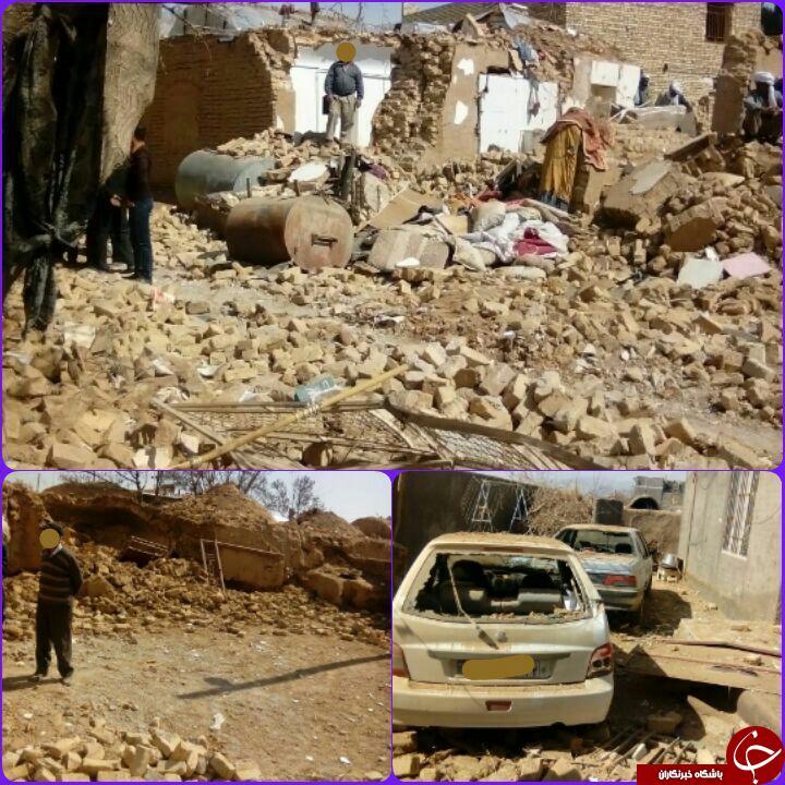نشت گاز وانفجار یک واحد مسکونی در روستای جنگاه تربت جام+تصویر