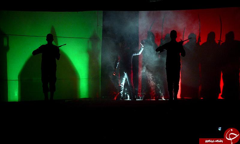 اجرای نمایش آیینی «سلسله الذهب» در نمایشگاه مهر درخشان