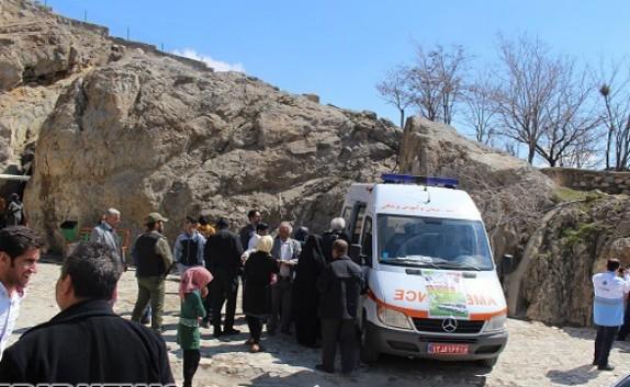 باشگاه خبرنگاران - سنجش سلامت 800 نفر از مسافران نوروزی در مهاباد