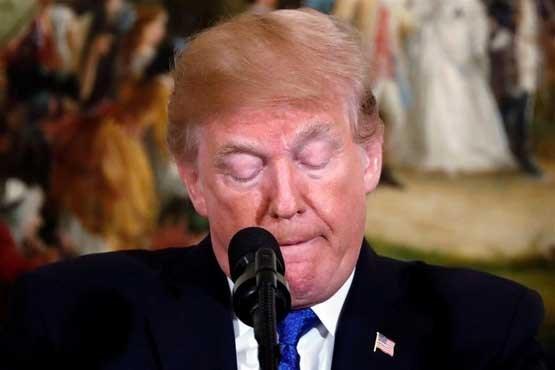 سیلی محکمی که دونالد ترامپ خورد