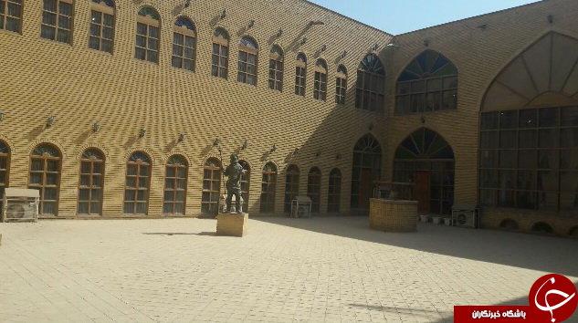 موزهای که از چنگ داعش در امان مانده