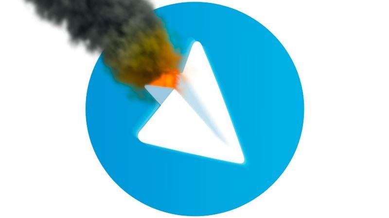 به نظر می رسد نسخه دسکتاپ تلگرام نیز دچار اختلال شده است
