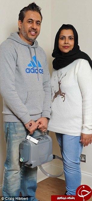 ماجرای عجیب دختر مسلمان در انگلیس با قلبی در کوله پشتی+تصاویر