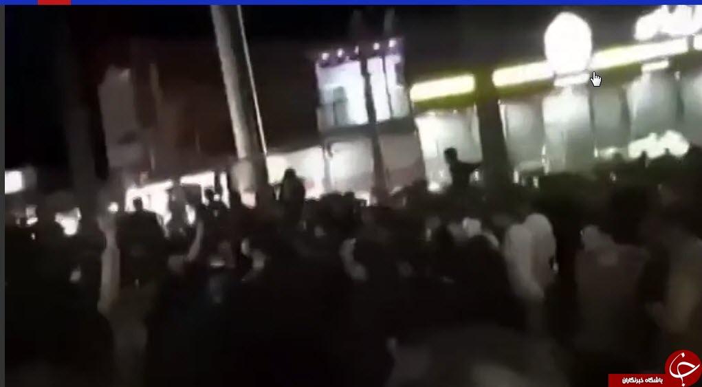 دروغ کانال های ضد انقلاب در خصوص وضعیت شهر ایذه نقش بر آب شد+فیلم
