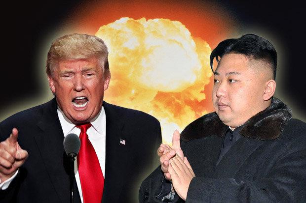 کریخوانی بچگانه ترامپ علیه رهبر کره شمالی