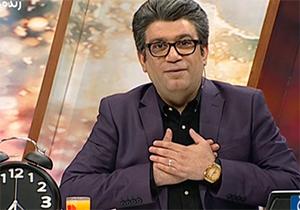رضا رشیدپور را کاملا کچل مقابل دوربین برنامه زنده ببینید! + فیلم