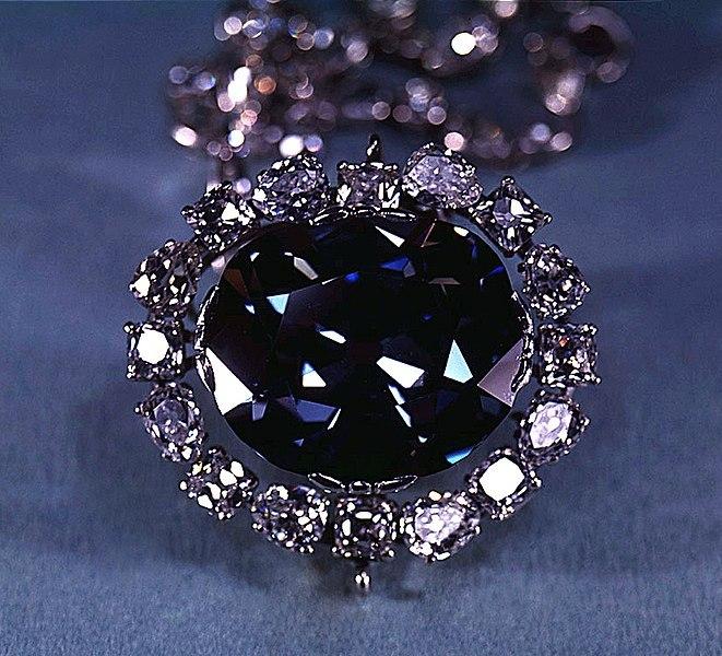 الماس امید در کجاست؟