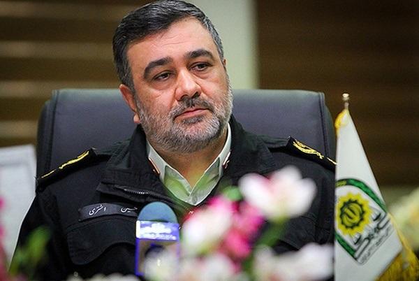 توضیحات فرمانده نیروی انتظامی پیرامون اغتشاشات اخیر + فیلم