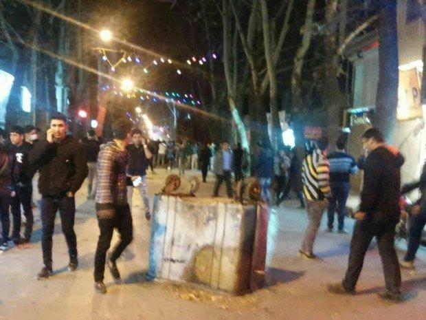 دستگیری ۵ نفر از لیدرهای اغتشاشات اخیر در اسلام آباد غرب