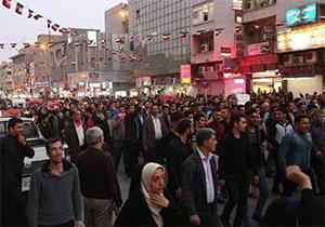 حماسه آفرینی اهوازیها در قیام علیه اغتشاشگران + فیلم