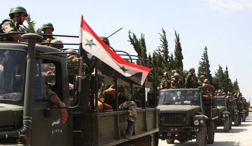 تسلط ارتش سوریه بر حومه شمال شرقی حماه