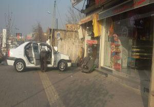 پیادهروهای ارومیه پارکینگ شد + تصاویر