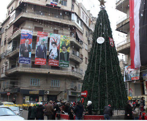 ////عکس جالبی از کریسمس در حلب