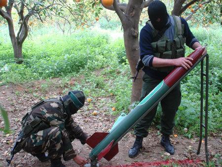حماس یک موشک به شهرک اشکول شلیک کرد