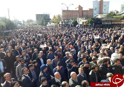 راهپیمایی مردم بابل و چالوس در محکومیت فتنه اغتشاشگران+ تصاویر