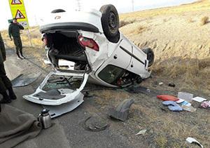 میزان تلفات جاده ای گلستان