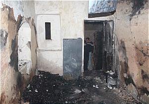 باشگاه خبرنگاران -آتش سوزی کارگاه نجاری بر اثر انتشار بخار بنزین در محیط
