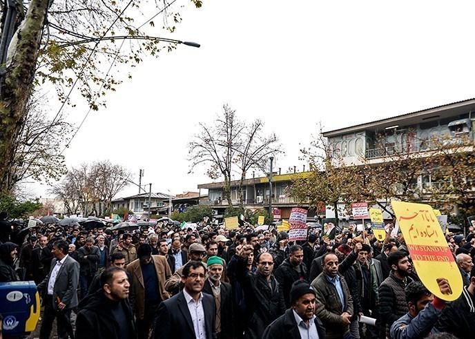 راهپیمایی باشکوه مردم گرگان، مشتی محکم بر دهان فتنه گران + فیلم