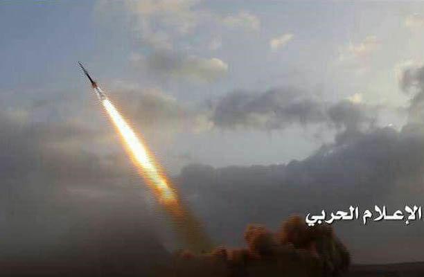 واکنش ائتلاف سعودی به شلیک موشک بالستیک یمنی ها واکنش نشان داد