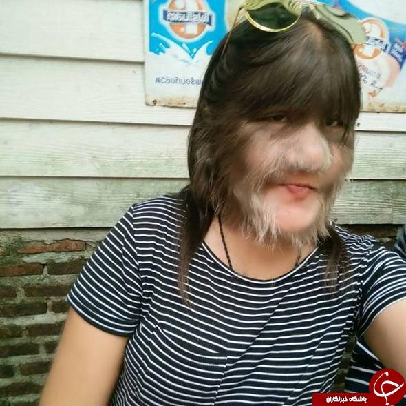 ترسناک ترین دختر جهان به خانه بخت رفت+عکس