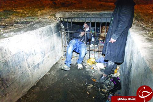 گزارشی اسفناک از کانال خوابهای بیخانمان