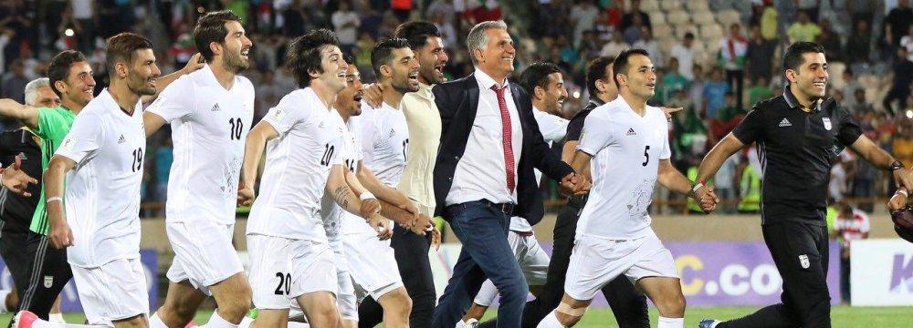 رکورد جدید ایران در جام جهانی 2018