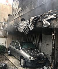 باشگاه خبرنگاران -نجات زوج سالخورده از میان دود و آتش در خیابان مطهری