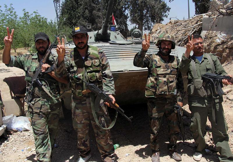 قطع راههای ارتباطی تروریستها در سنجار توسط ارتش سوریه