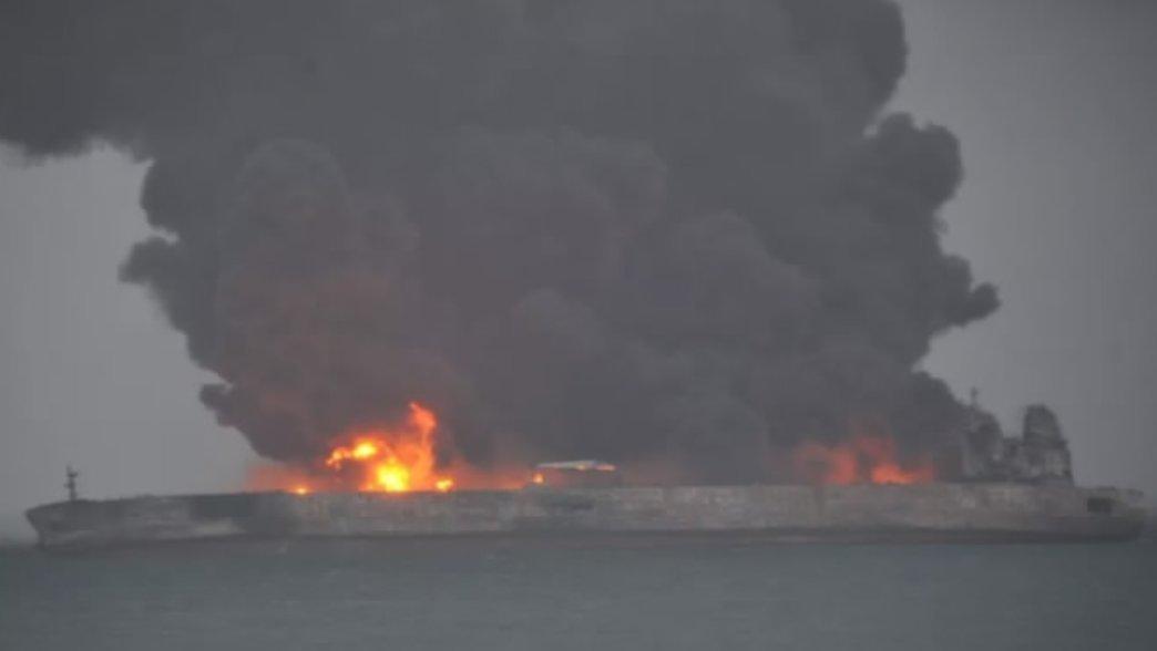 در پي برخورد دو كشتي در آبهاي چين، ۳۰ ايراني ناپديد شدند