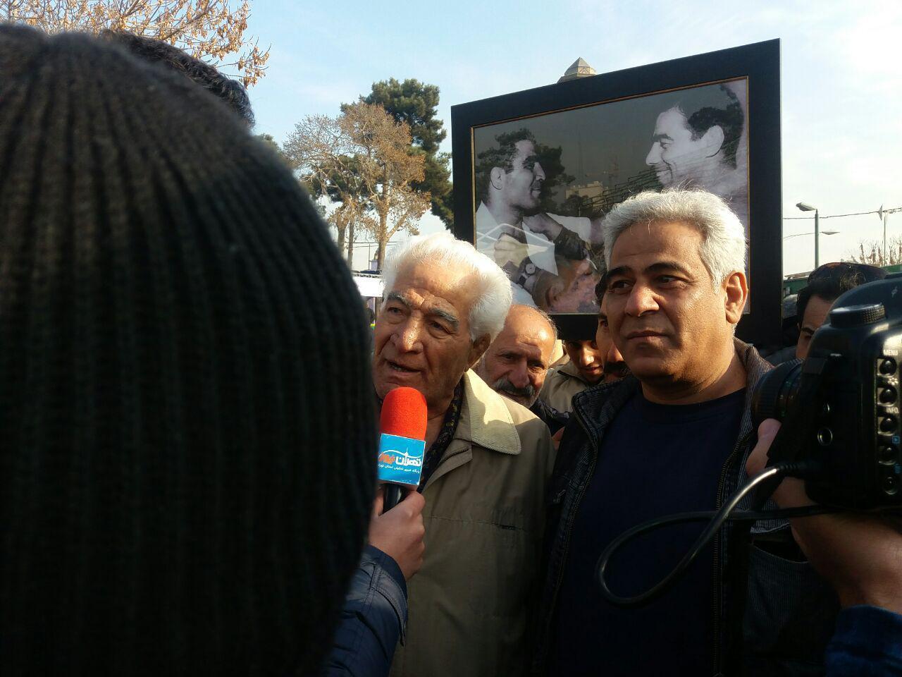 مراسم پنجاهمین سالروز درگذشت جهان پهلوان تختی + تصاویر