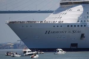 بزرگترین کشتی کروز در دنیا + فیلم