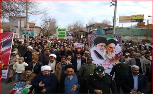 راهپیمایی مردمی گلستانیها علیه اغتشاشگران+تصاویر