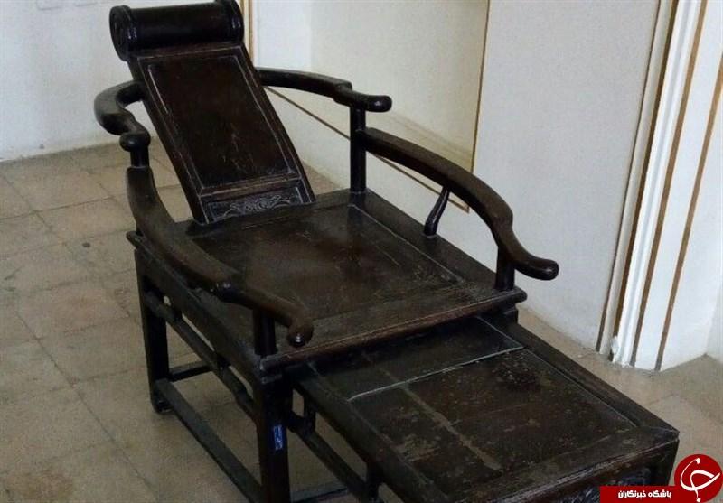 تصاویری از صندلی راحتی که ایرانیها ۱۰۰ سال قبل استفاده میکردند
